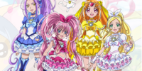 Suite Pretty Cure Girls