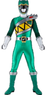 Dino Charge Green Ranger