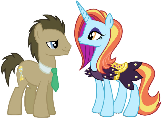 File:Dr. Hooves and Sassy Saddle.png