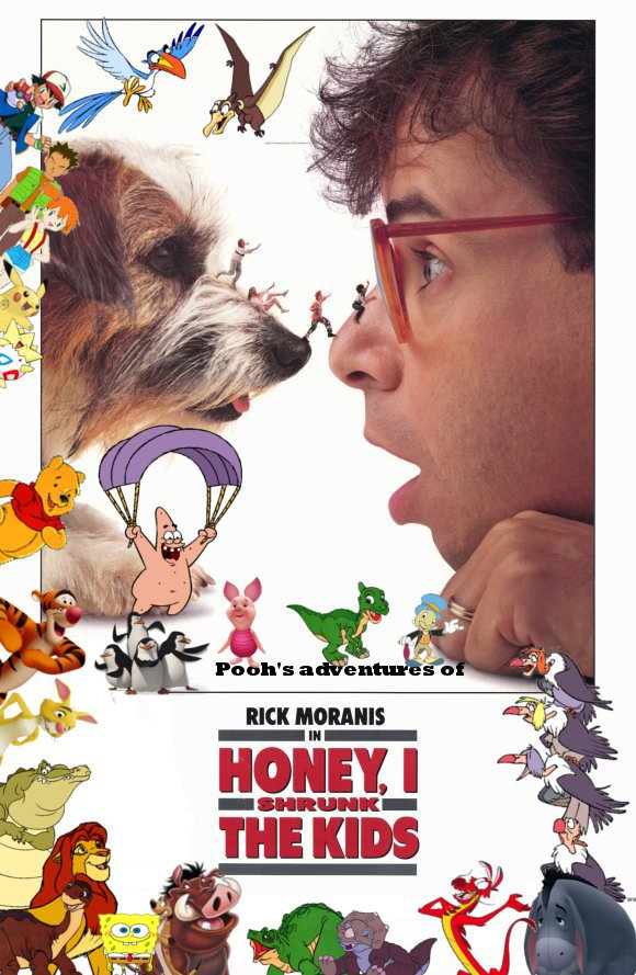 Pooh's adventures of Honey, I Shrunk the Kids Poster