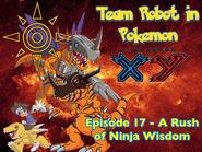 Episode 17 A Rush of Ninja Wisdom Poster