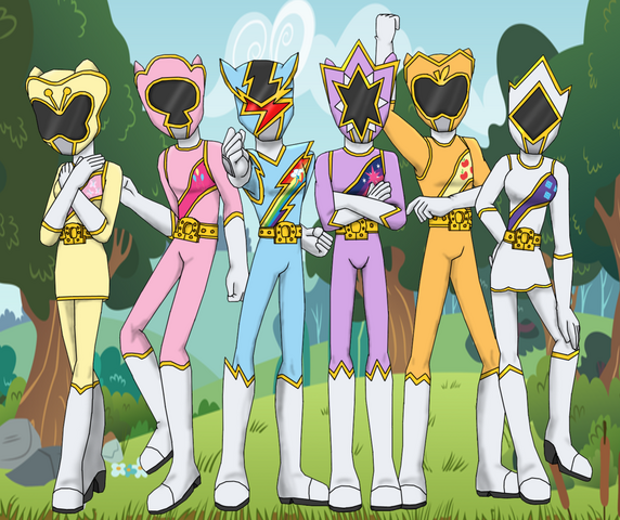 File:Power rangers pony force by ferrokiva-d7h6dho.png