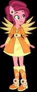 Gloriosa Daisy in her Crystal Anthro Form