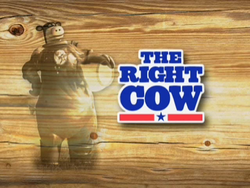 The Right Cow Logo