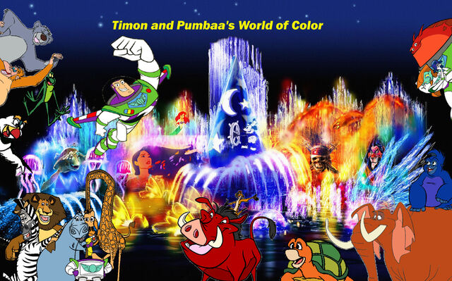 File:Timon and Pumbaa's World of Color Poster.jpg