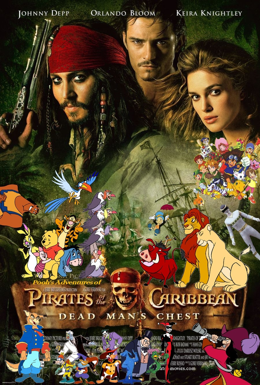 poohs adventures of pirates of the caribbean dead mans