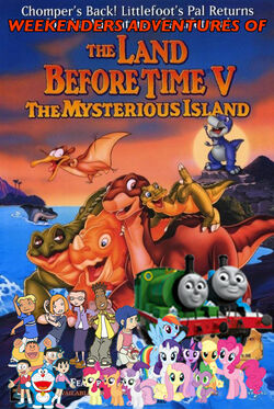 Weekenders Adventures of The Land Before Time V (Remake)