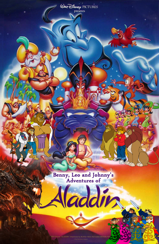 File:Benny, Leo and Johnny Aladdin poster.png