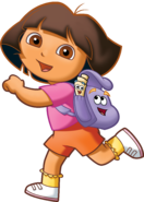 Dora Backpack and Map