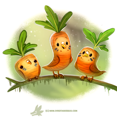 File:Daily paint 1279 carrotkeets by cryptid creations-da3l0op.png