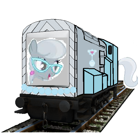 File:MLP Silver Spoon as a thomas Character.png