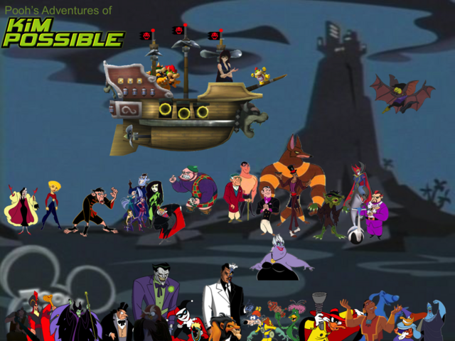File:Pooh's Adventures of Kim Possible Villains Poster 2.png