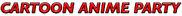 Cartoon Anime Party Logo