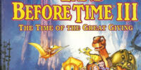 Weekenders Adventures of The Land Before Time III: The Time of the Great Giving