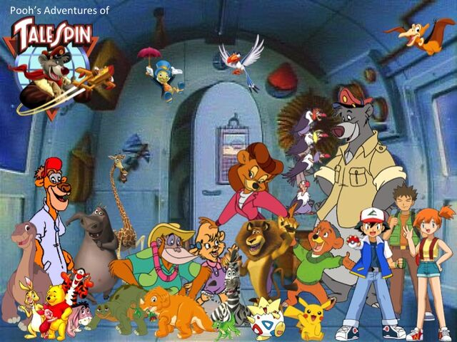 File:Pooh's Adventures of TaleSpin Heroes Poster.jpg
