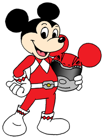 File:Mickey Mouse as a Power Ranger.png