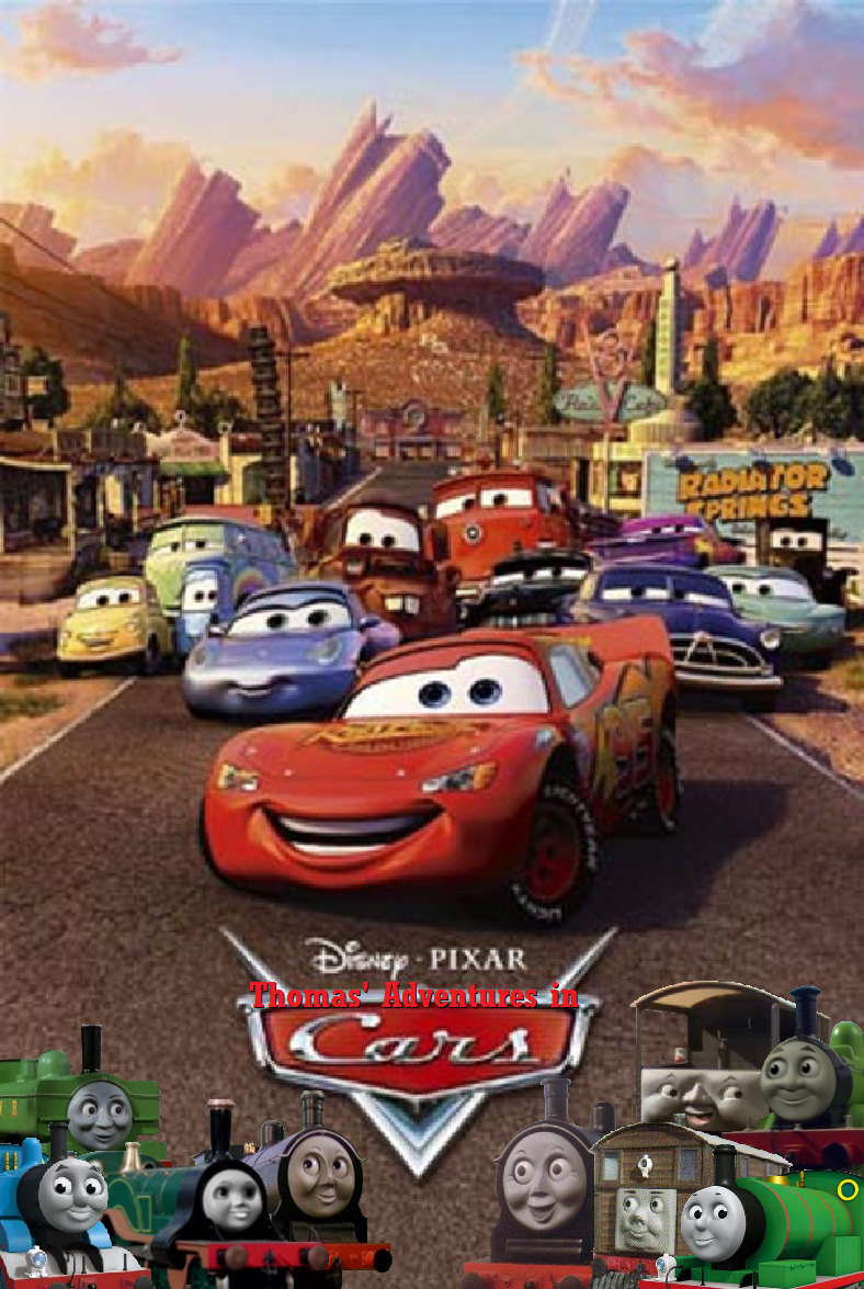 Thomas' Adventures in Cars poster