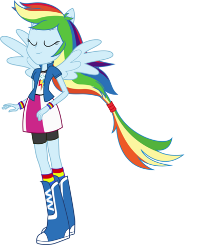 File:Rainbow Dash Ponied Up.png