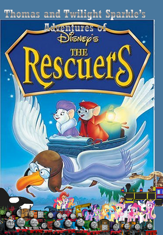 File:Thomas and Twilight Sparkle's adventures of The Rescuers.png