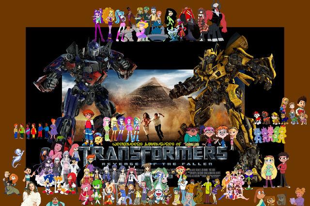 File:Weekenders Adventures of Transformers- Revenge of the Fallen-0.jpg