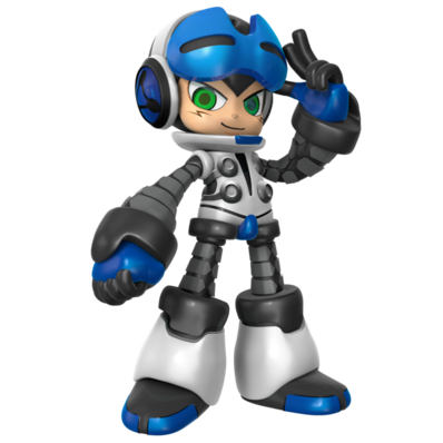 Mighty no 9 beck render by nibroc rock-d9gtrx8