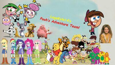 Pooh's Adventure Team LegoKyle14 (Remake)