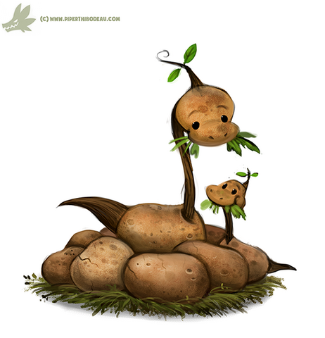 File:Daily paint 1079 apotatosaurus by cryptid creations-d9fkctg.png