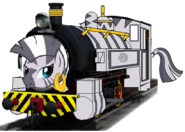 MLP Zecora as a Thomas and Friends character