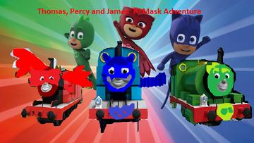 Thomas, Percy and James' PJ Mask Adventure