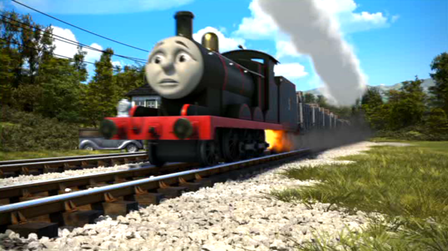 File:James in his black livery in The Adventure Begins.png