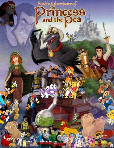 File:Pooh's Adventures of The Princess and the Pea Poster.jpg