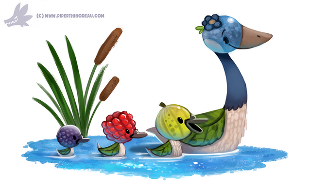 File:Daily paint 1169 gooseberries by cryptid creations-d9qbku4.png