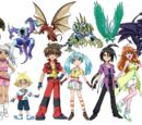 The Bakugan Battle Brawlers and their Bakugan
