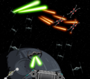 The Arofighter in the Battle of Yavin