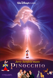 Jerry Seinfeld Meets Pinocchio poster