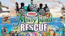 Pooh's Adventures of Thomas and Friends - Misty Island Rescue Poster
