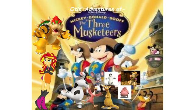File:Otis' Adventures of Mickey, Donald, Goofy The Three Musketeers (Poster).jpg