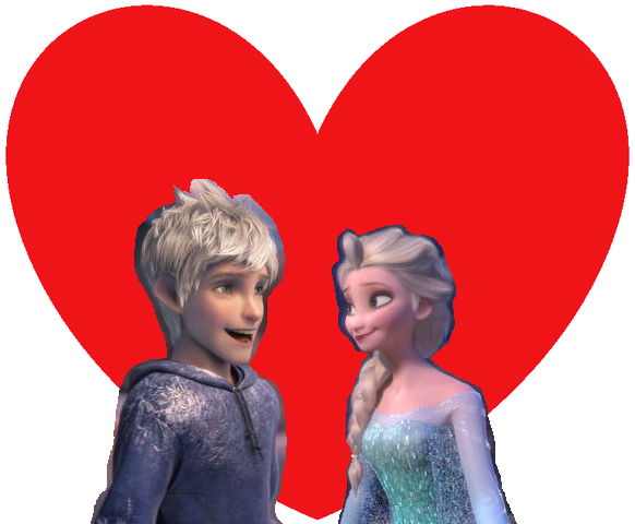 File:Jack Frost and Elsa the Snow Queen.png
