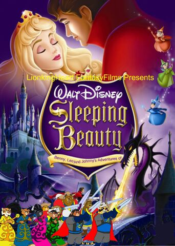 File:Benny, Leo, and Johnny's adventures of SleepingBeauty Poster.jpg
