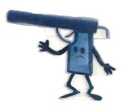 Water Pistol that Shoots Jelly
