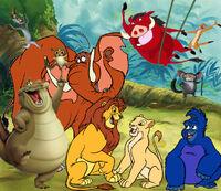 Simba and Gang