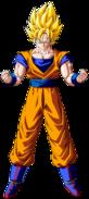 Goku Super Saiyan - By Yassir Narkemonball