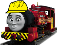 Victor as Bob the Builder