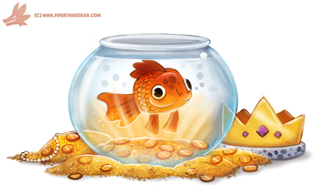 File:Daily paint 1138 goldfish by cryptid creations-d9mj7da.png