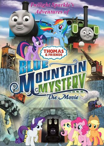 File:Twilight Sparkle's Adventures of Thomas and Friends - Blue Mountain Mystery Poster.jpg