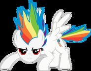 Commission super rainbow dash by rainbowplasma-d51pr7c