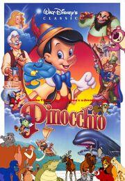 Simba Timon and Pumbaa's adventures of Pinocchio Poster