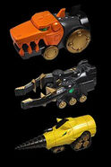 Land Brothers Zords