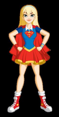 File:Supergirl Pose DCSHG Transparent.png