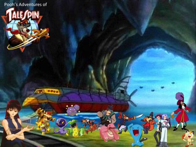 File:Pooh's Adventures of TaleSpin Villains Poster.jpg
